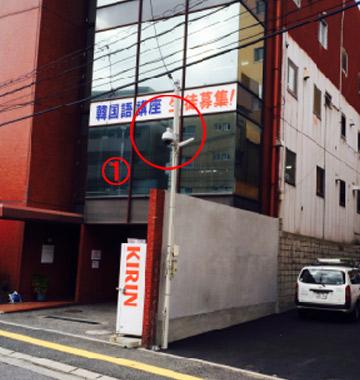 安視ん君設置事例-広島市内駐車場納入事例