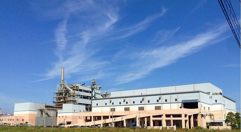 福山市ごみ固形燃料工場納入事例