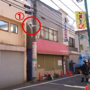 安視ん君設置事例-東京都足立区某所6台