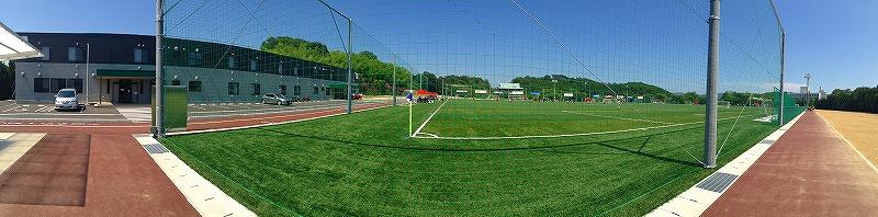ツネイシしまなみビレッジ 広島県フットボールセンタークラブハウス納入事例