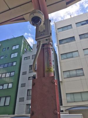 安視ん君-東京都台東区 商店街納入事例